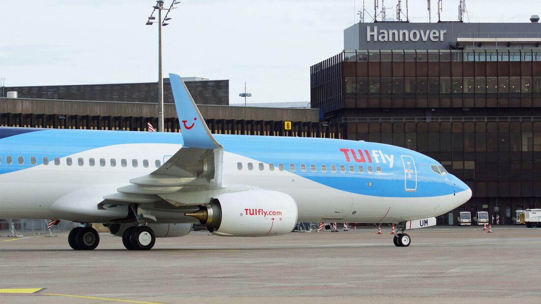 Boeing 737 der TUI fly.