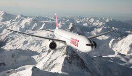 Boeing 777 der SWISS.