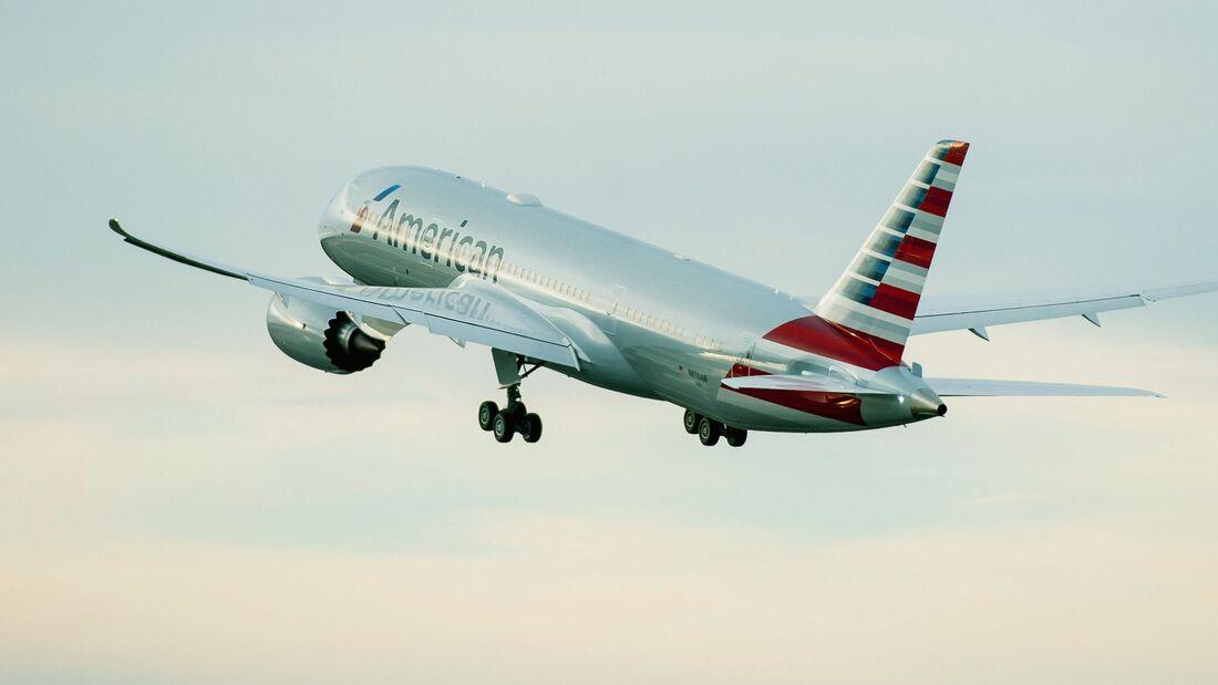 Boeing 787-8 von American Airlines