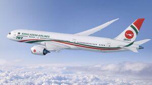Boeing 787-9 für Biman Bangladesh Airlines.