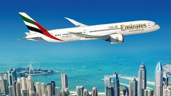 Boeing 787-9 für Emirates.