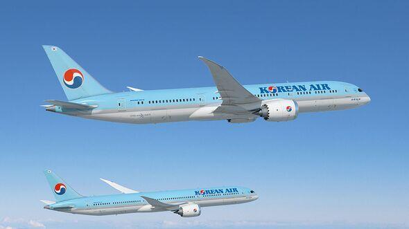 Boeing 787-9 und 787-10 für Korean Air.