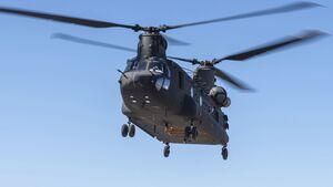 Boeing CH-47F Block II in der Flugerprobung.