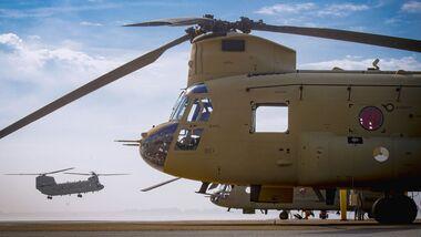 Boeing CH-47F Chinook für die niederländischen Luftstreitkräfte.