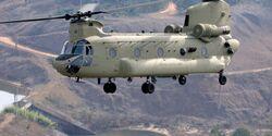 Boeing CH-47F der US Army