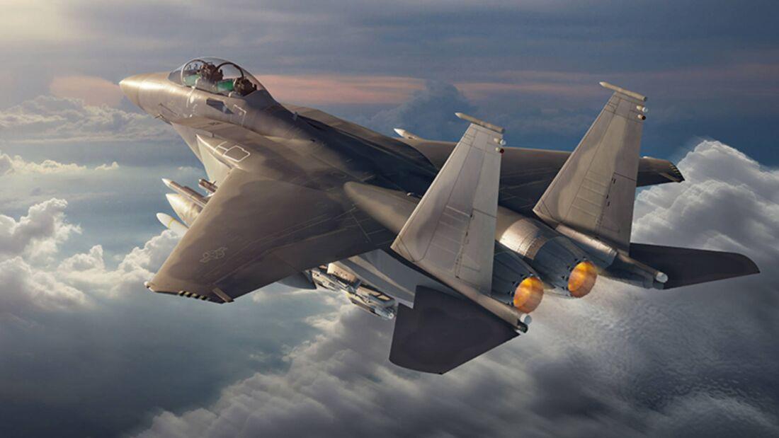Boeing F-15EX.