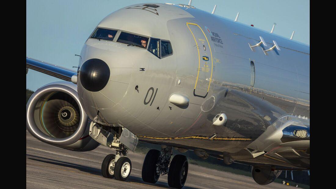Boeing Poseidon MRA1 der Royal Air Force.