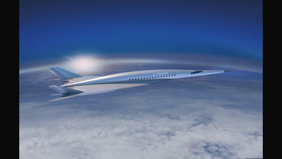 Boeings Konzept eines Hyperschalljets