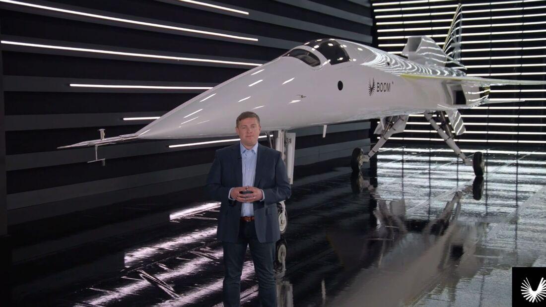 Boom präsentierte am 7. Oktober seinen Überschall-Demonstrator XB-1.
