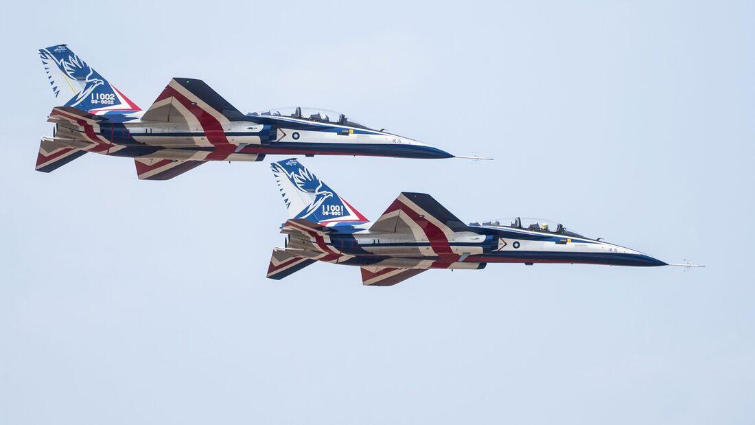 Brave Eagle von AIDC im Flugtest.