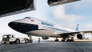 British Airways - BOAC 747
