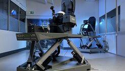 Brunners Novasim VR wurde nun auch an Airbus für Tests und Training auf dem Eurofighter verkauft.