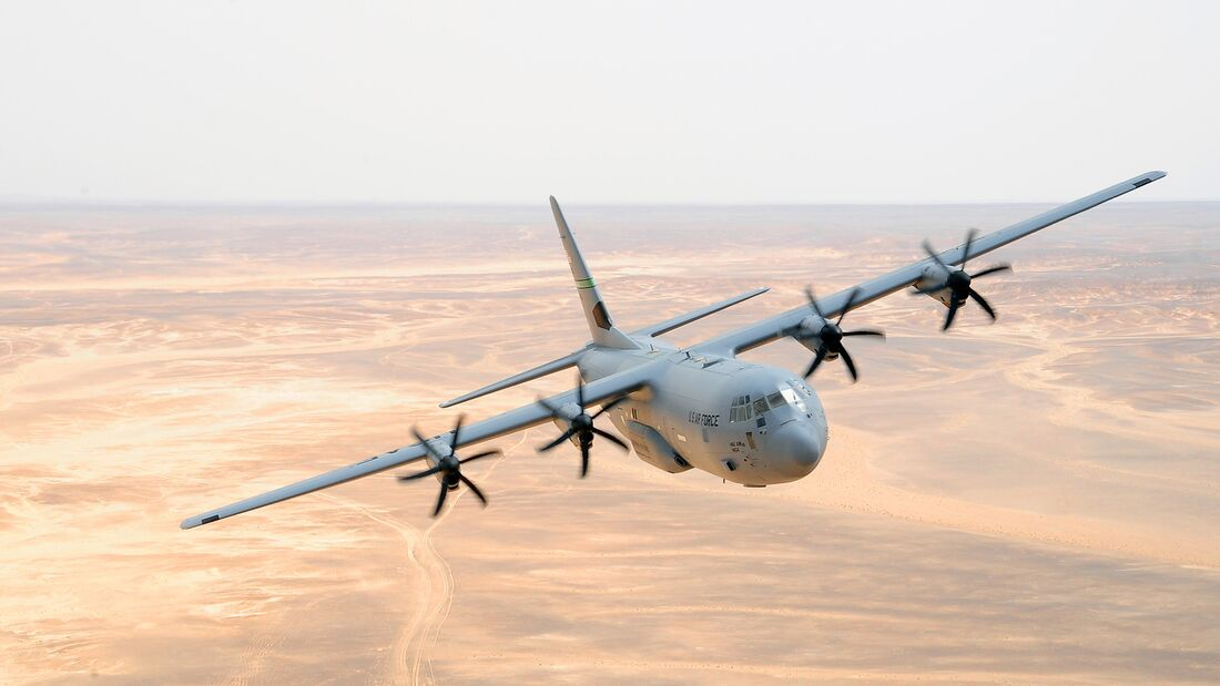 California ANG provides C-130 support for Eager Lion 2014
