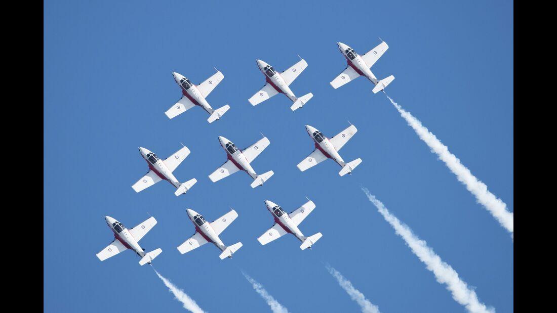 Canadian Forces Snowbirds-Kunstflugteam.