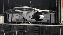 CityAirbus Testmodell von Airbus Helicopters bei der Präsentation in Ingolstadt.