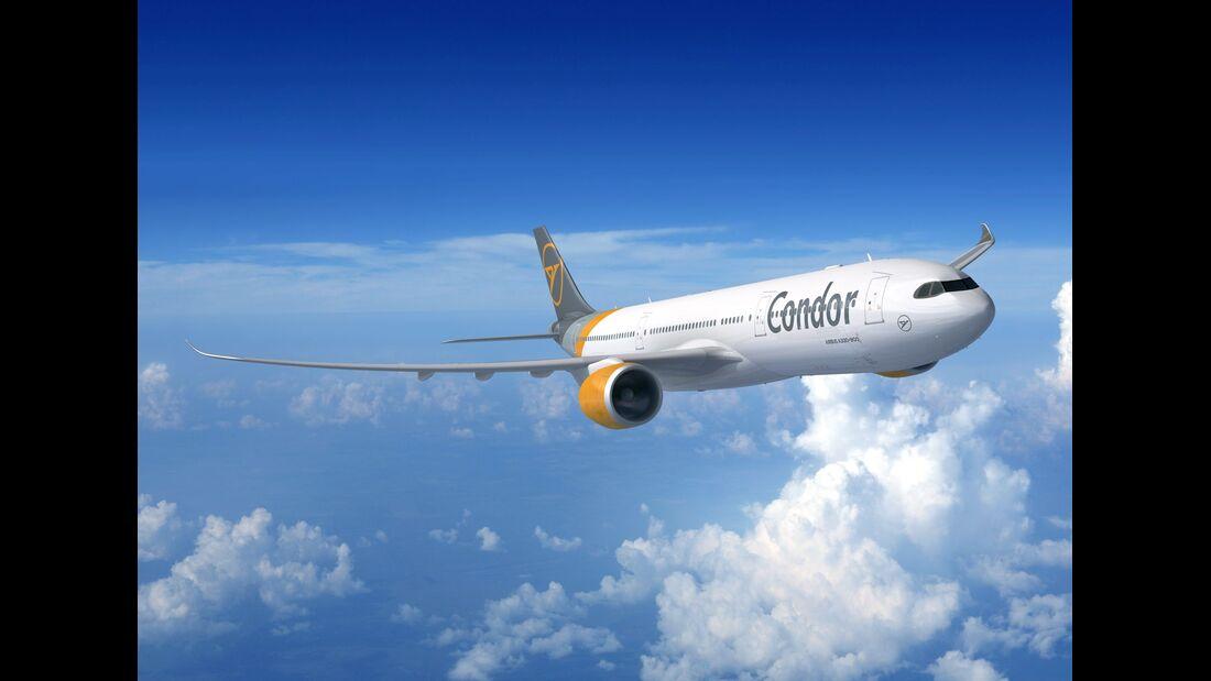Condor beschafft 16 Airbus A330neo.