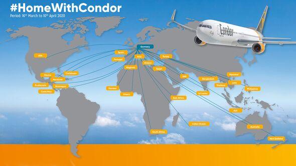 Condor war an der Rückholaktion des Auswärtigen Amts beteiligt.