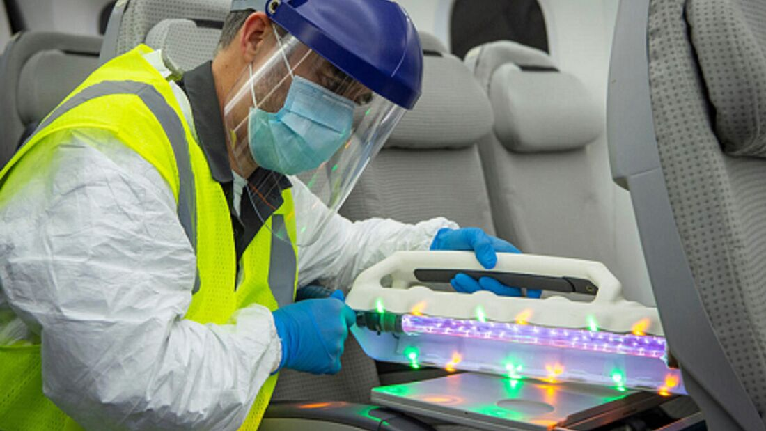 Confident Travel Initiative: New Technology Testing at AIC - Airplane Integration Center