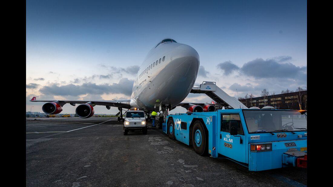 Corendon: letzte Reise einer Boeing 747-400