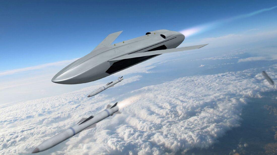DARPA untersucht ein UAV, das Lenkflugkörper gegen feindliche Flugzeuge startet.