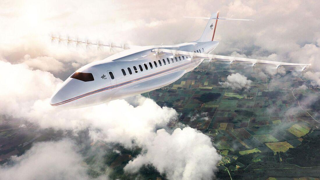 Das DLR untersucht Konzepte für Flugzeuge mit Elektroantrieb.