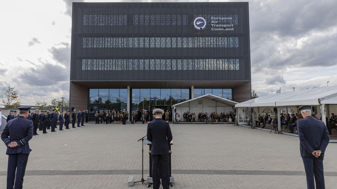 Das EATC feierte am 24. September 2020 in Eindhoven sein zehnjähriges Bestehen.