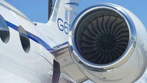 Das Rolls-Royce BR725 treibt den Gulfstream-Geschäftsreisejet G650 an.