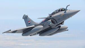 Dassault Rafale der ägyptischen Luftstreitkräfte.