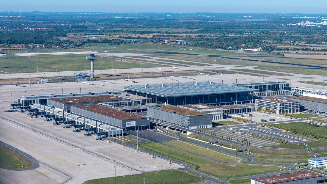 Der Flughafen BER eröffnet Ende Oktober 2020.
