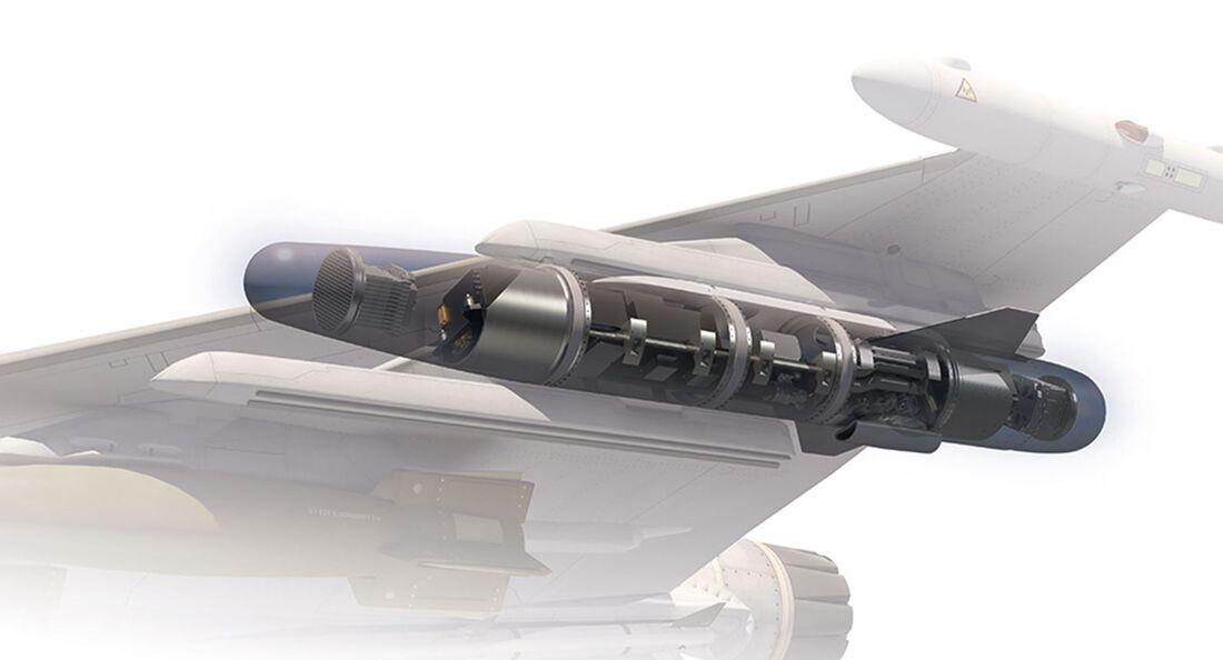 Der Kalaetron Attack-Störbehälter bietet laut Hensoldt die neuesten Technologien zur Kontrolle des elektromagnetischen Spektrums.