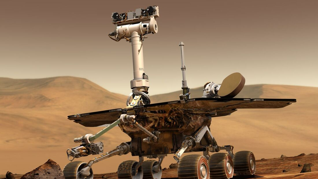 Der Mars-Rover Opportunity.