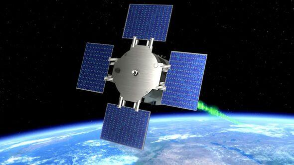 Der Satellit Eu:CROPIS umkreist die Erde in 600 Kiolometern Höhe und simuliert die Mondschwerkraft.