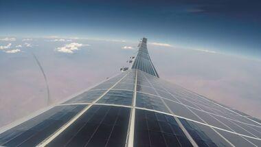 Der Sunglider von AeroVironment hat im September 2020 seinen ersten Flug in der Stratosphäre geschafft.