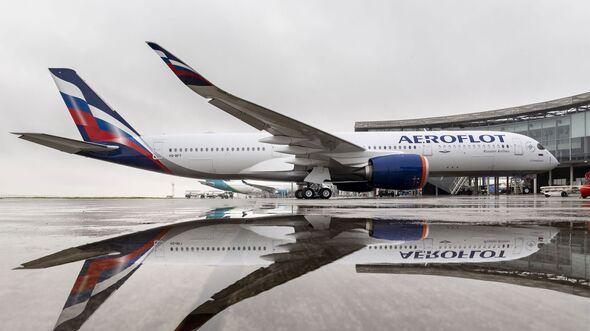 Der erste Airbus A350 für Aeroflot.