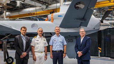 Der erste MQ-9 Reaper Block 5 für die Niederlande wurde bei General Atomics Aeronautical Systems fertiggestellt.