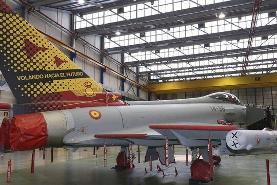 Der letzte Eurofighter Typhoon für Spanien wurde im Februar 2020 an die Ala 14 ausgeliefert.