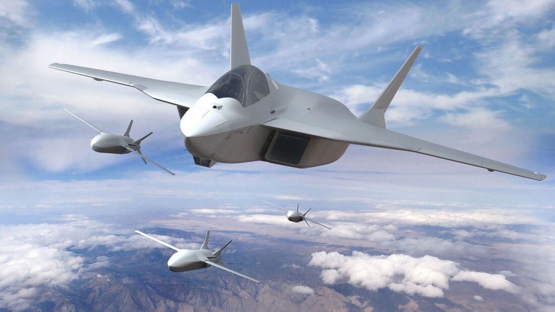 Der neue europäische Fighter soll im FCAS-Programm von Deutschland Frankreich und Spanien entwickelt werden.