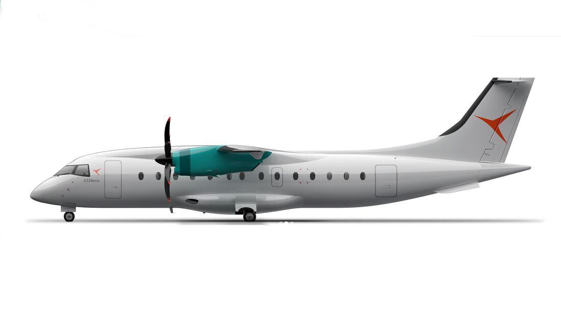 Deutsche Aircraft D328eco.