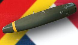 Deutschland und Frankreich beschaffen den MK82-EP-Bombenkörper von Rheinmetall.