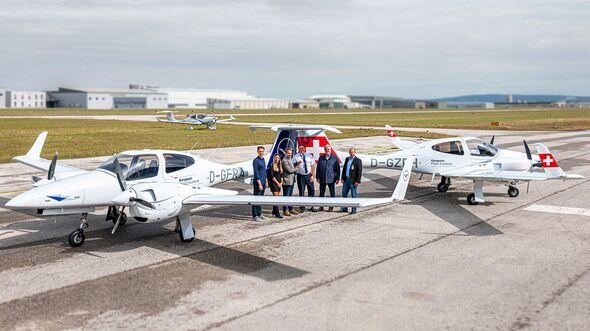 Diamond Aircraft DA42 für die European Flight Academy in Rostock-Laage.