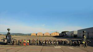Die 10000. unfallfreie Flugstunde des Tiger der Heeresflieger in Le Luc wurde am 9. Dezember 2020 gefeiert.