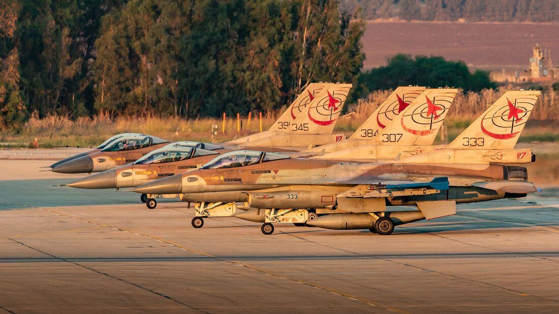 """Die 117th """"First Jet""""-Squadron der israelischen Luftstreitkräfte wurde Ende September nach 67 Jahren aufgelöst"""