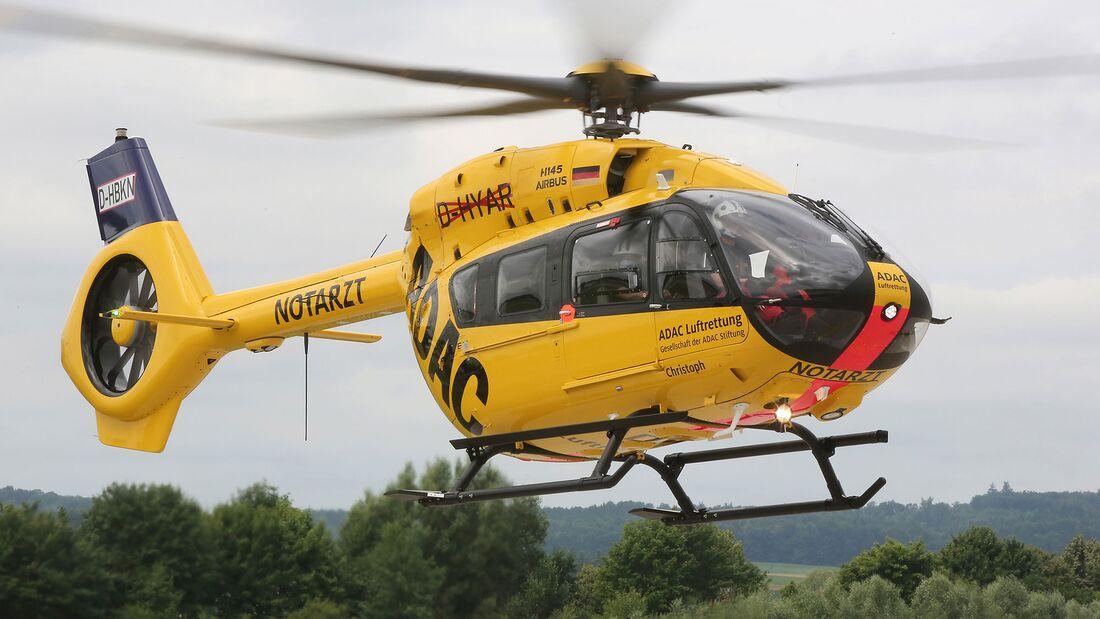 Die ADAC Luftrettung stellt ihre Flotte auf die Fünfblattversion der H145 um.