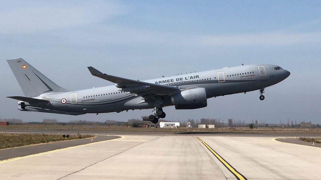 Die Armée de l´Air wird insgesamt 15 Airbus A330 MRTT Phénix erhalten.