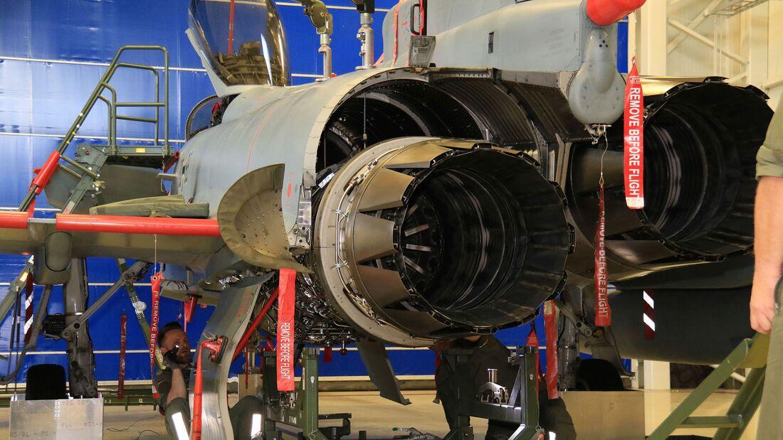 Die Ausbildung von Luftwaffen-Technikern für den Eurofighter bleibt in Kaufbeuren.