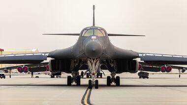 Die B-1B Lancer mit der USAF-Seriennumer 85-0074 war die aktuell letzte, die auf der Davis-Monthan AFB eingelagert wird.
