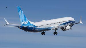 Die Boeing 737 MAX 10 startete am 18. Juni 2021 zum Erstflug.