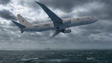 Die Deutsche Marine ist an der Beschaffung der Boeing P-8A Poseidon interessiert.
