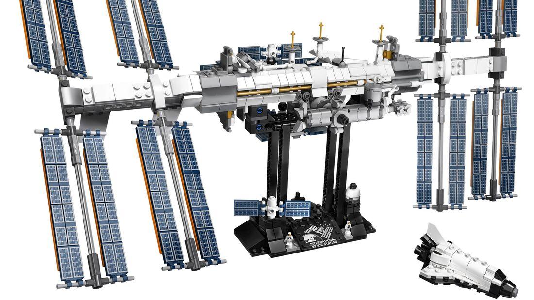 Die Internationale Raumstation ISS ist ab dem 1. Februar als Lego-Modell erhältlich.