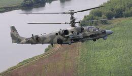 Die Kamow Ka-52 wird modernisiert.